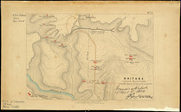 Kaitake [cartographic material] : captured March 25, 1864 : from an eye sketch  by Col. Warre.