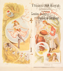 "Theatre Royal Christchurch :London Gaiety Burlesque Company. ""Carmen up to data"". [1893]."