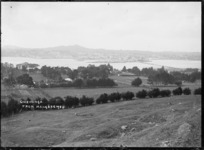 General view of Onehunga from Mangere
