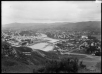 Panoramic view of Gisborne