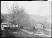 The Waikato Esplanade at Ngaruawahia, ca 1910