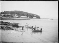 View looking across Torpedo Bay to North Head, Devonport