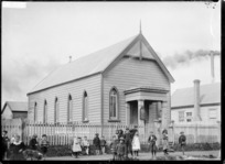 Presbyterian Church at Huntly, ca 1910s