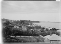View of Northcote, Auckland looking towards Sulphur Beach