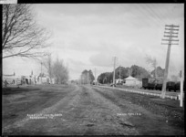 Great South Road, the main street through Ngaruawahia, looking south, 1910 - Photograph taken by G & C Ltd