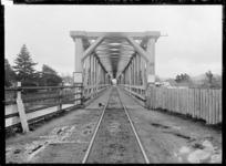 Ngaruawahia Railway Bridge, 1910