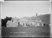 New Zealand Dairy Association Creamery at Ngaruawahia, ca 1910
