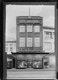 Bristol Piano Company Ltd, Karangahape Road, Auckland