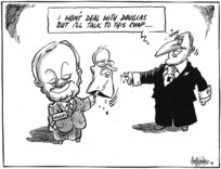 """Hubbard, James, 1949- :""""I won't deal with Douglas but I'll talk to this chap..."""" 1 May 2011"""