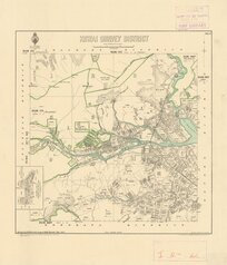 Kowai Survey District [electronic resource] / drawn by H. McCardell, August 1886.