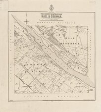 The survey districts of Hall & Corwar [electronic resource].