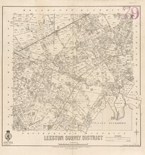 Leeston Survey District [electronic resource] / H. McCardell, delt.