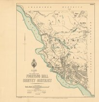 Fighting Hill Survey District [electronic resource] / drawn by A.G. Spreat, Oct. 1899.