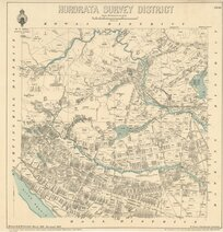 Hororata Survey District [electronic resource] / drawn by H. McCardell, March 1886.