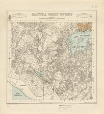 Halswell Survey District [electronic resource] / drawn by G.P. Wilson, July 1893.