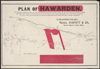 Plan of Hawarden [cartographic material].