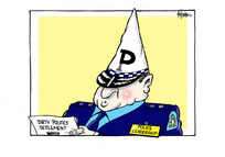 Dirty politics settlement. Police leadership.