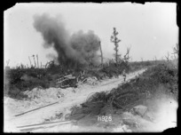 In this advance as in every other the Germans shelled the villages from which they were pushed out although it would be impossible to cause any greater damage than had already been caused