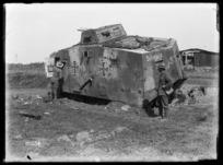 """""""Schnuck"""" - the German tank that stuck"""