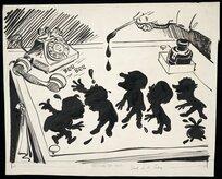 Colvin, Neville Maurice, 1918-1991: Political Inkspots. 1950?