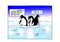 [Penguins on thin ice as ice loss from Antarctica triples in five years]