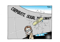 """[Margaret Bazley's 'Bazley Report' about Russell McVeagh as a sticking plaster on the cracks on the wall of """"Corporate Sexual [Mis]conduct"""""""