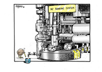 NZ Banking System. Service.