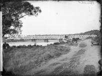First bridge at Bulls, over the Rangitikei River