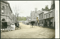 [Postcard]. Shakespeare Road, Napier, N.Z.. HB post card [ca 1900-1910].