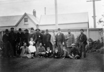Deputation of Urewera chiefs to Richard John Seddon, at the Ministerial Residence, Molesworth Street, Wellington