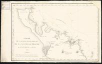 Carte de la partie septentrionale de la Nouvelle Zélande [cartographic material] / par M. M. Durville et Lottin, 1831; gravé par Laurent.