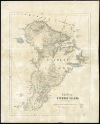 Plan of Stewart Island [cartographic material].