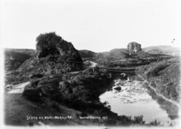 Scene on the Waihi-Waikino Road, Waikato