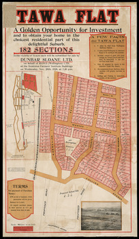 Tawa Flat [cartographic material] / [surveyed by] Middleton, Smith & Coulter.