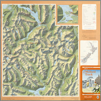 Map of Milford Track [cartographic material].