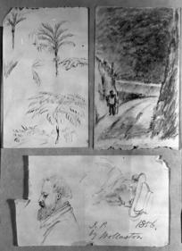 Pearse, John 1808-1882 :[Miscellaneous sketches] 1856