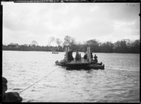 Ferry crossing the Waikato River at Huntly