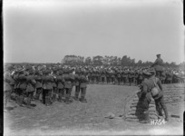 The massed bands at the New Zealand Divisional Band Contest, France