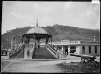 Band rotunda at Greymouth