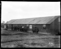 Exterior of the World War I YMCA hut presented by Wairarapa NZ