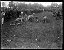 Sports day with the New Zealand Division troops, World War I