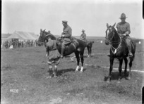 The Brigadier wins an event at the New Zealand Infantry Brigade horse show, France, during World War I