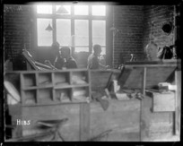 New Zealand Division printing press in World War I