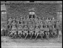 New Zealand ordnance staff at Mulheim, Germany, 1919
