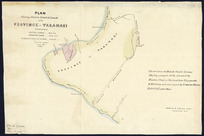Plan showing relative extent of lands in the province of Taranaki [cartographic material] / Charles Heaphy.