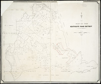 Map of the Heathcote Road district [cartographic material].