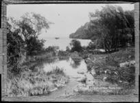 Himemoa's Bath, Mokoia Island - Photograph taken by Sigvard Jacob Dannefaerd