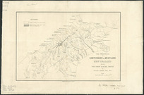 The provinces of Canterbury and Westland, New Zealand during the great glacier period [cartographic material] / by Julius von Haast.