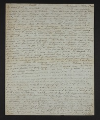 Inward letter - William and Charles Selwyn