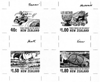 Various Artists :[First Day Covers. 1997 Cartoonists Stamp series].